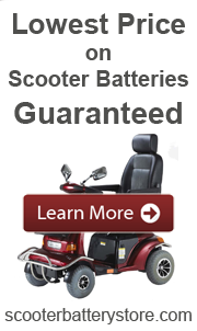Save on Scooter Batteries